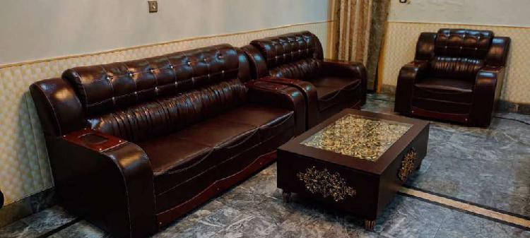 6 seater sofa set leather bed dining and all house furniture