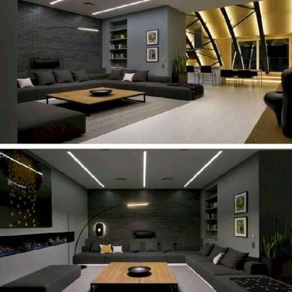 Home interior | industril epoxy flooring | renovation | 3d