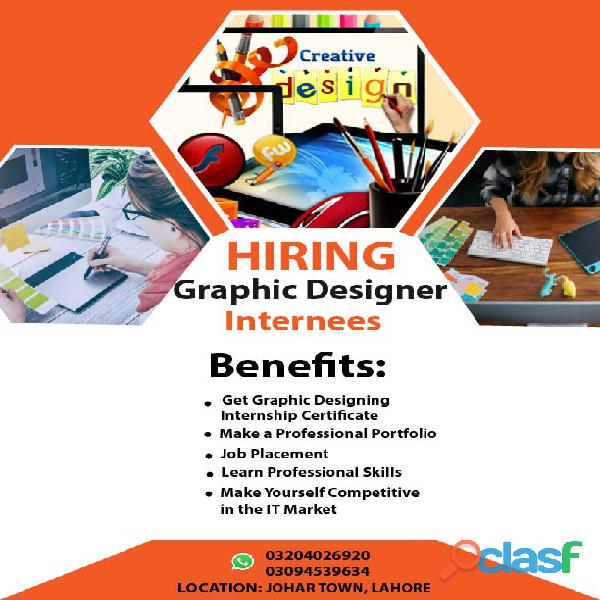 Graphic Designer Internees