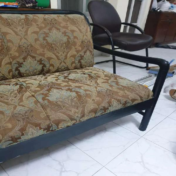 Sofa set light weight wood