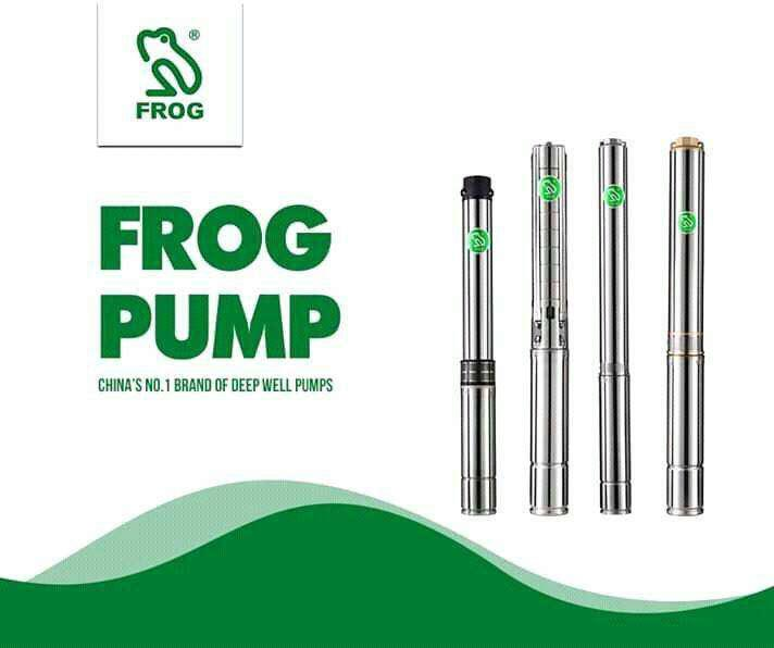 Frog home submersible pump. 0.75 kw with 6 months warranty
