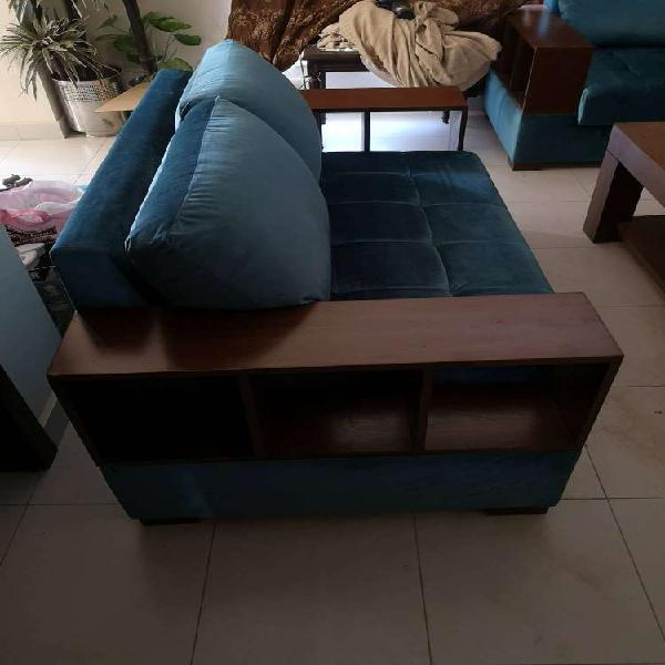 Sofa set (6 seater with centre table)