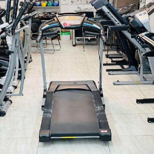 Treadmill, elliptical trainer, exercise bike & multi gym