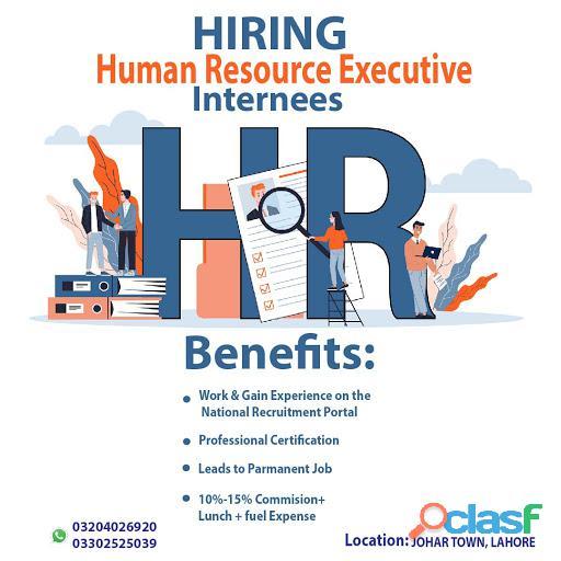 Human Resource Internees