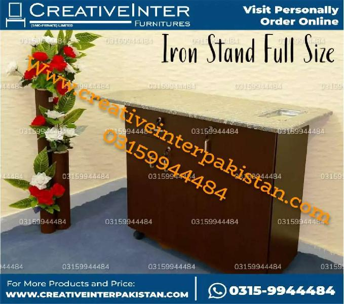 FullyStructured iron stand istri whholeesale bed wardrobe