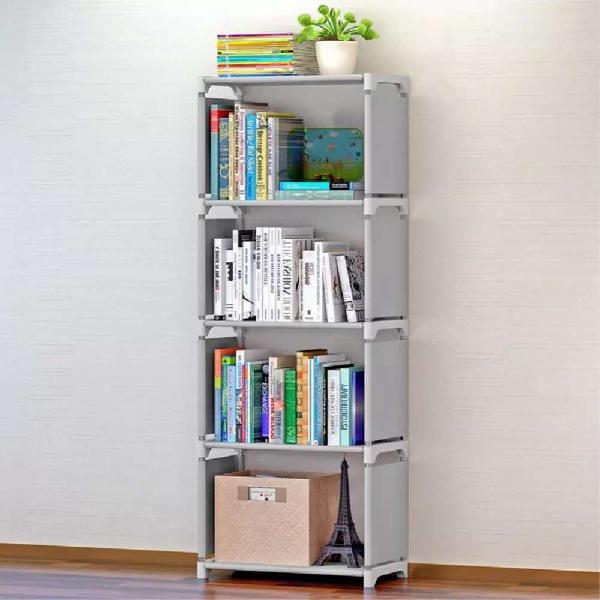 Simple fashion book shelf 5 layers