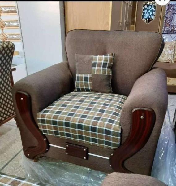 Sofa set, 5 seater sofa, brown sofa, sofa set in lahore