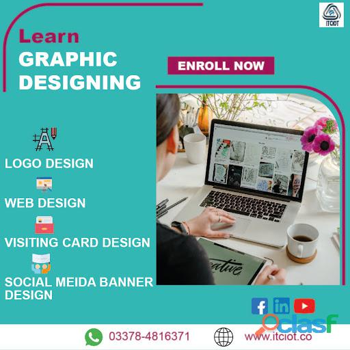 Learn Graphic Designing.