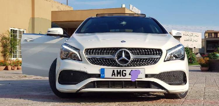 Mercedes benz cla class cla200 2016