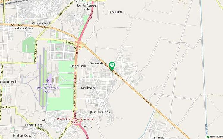 Farmhouse land for sale in lahore barki road