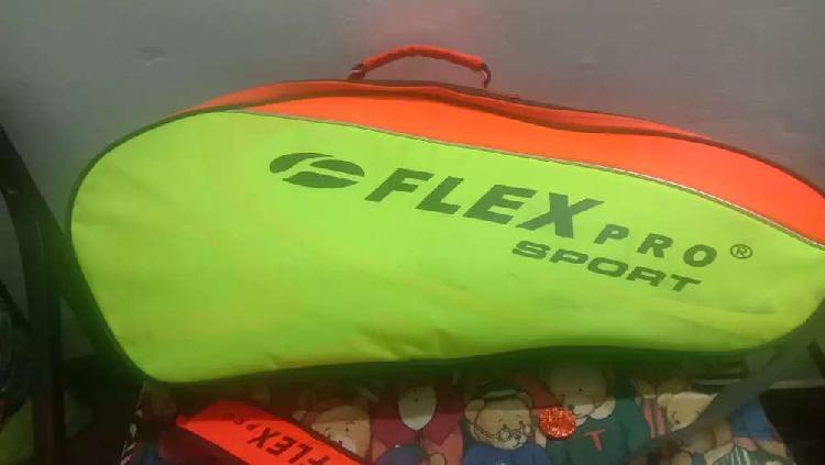 Flex pro 4 racket tennis bag