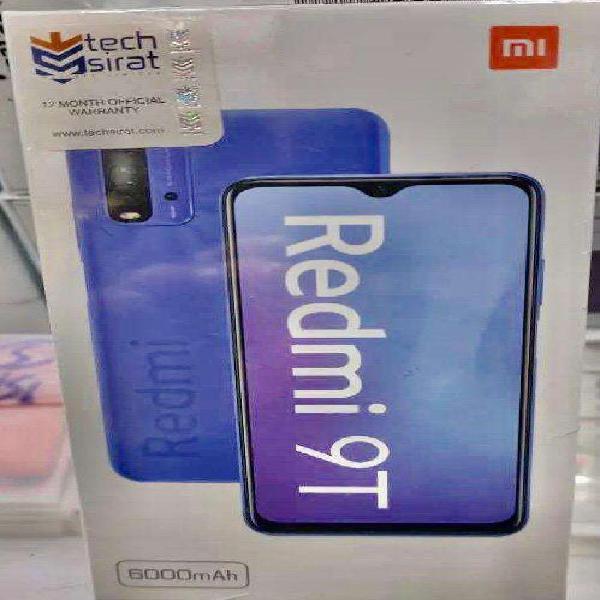 Realme Redmi 9T with box and warranty