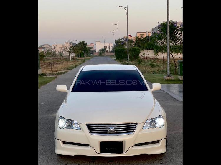 Toyota mark x 250g f package smart edition 2004
