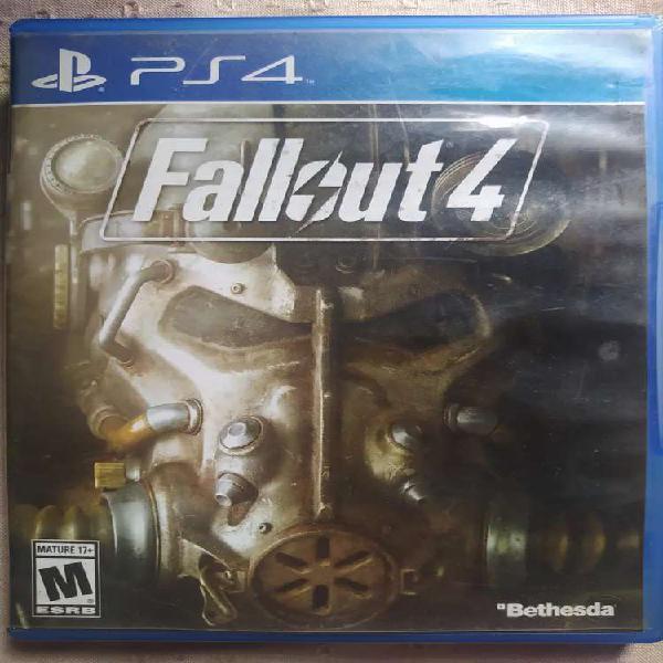 Playstation 4 - ps4 games (fall out 4 & fifa 18)