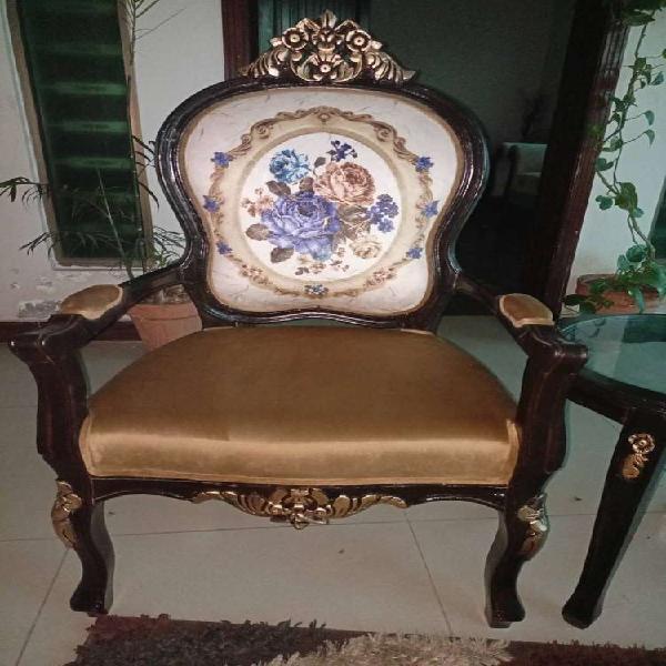 Coffee table victoria chair sofa dewan