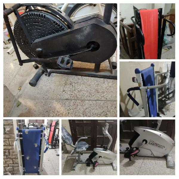 Elliptical cycle cycling machine running machine treadmill
