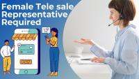 Female tele representative required for ecommerce agency.,