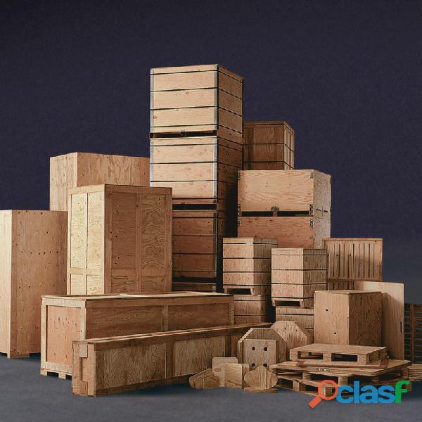 Industrial Wooden Packaging in Pakistan