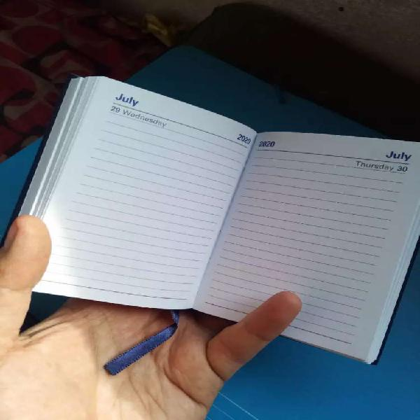 Pocket diary - strong and lightweight - fixed price