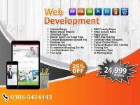 Website design, development, e