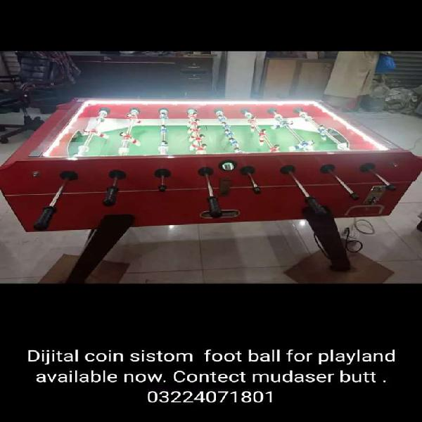 Digital Coins system foot ball games