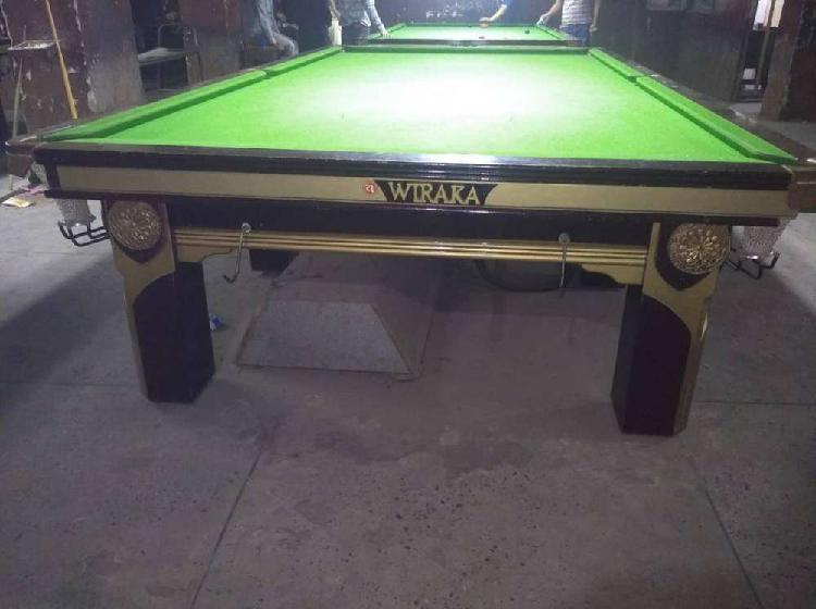 New wiraka snooker table 6/12 for sale
