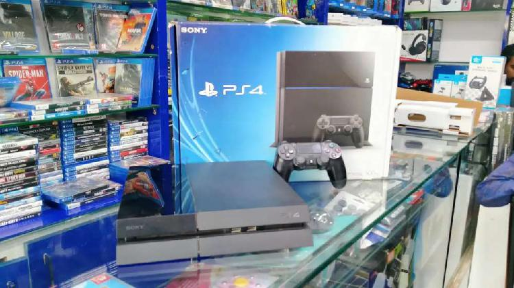 Ps4 fat 500gb used good condition used available