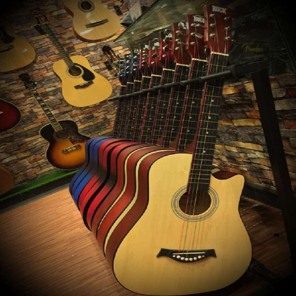 Rock acoustic guitar on flat 30% off