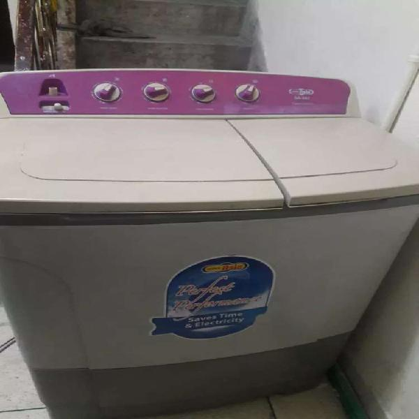 Super asia 2 in 1 washing machine with dryer