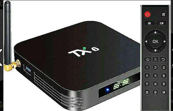 Tanix tx6 4/32 orignal brand with wireless keyboard 2021