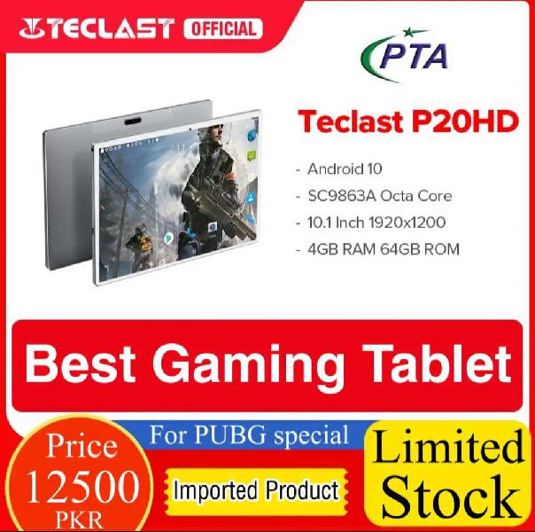 Teclast P20HD Best Gaming Tablet For PUBG
