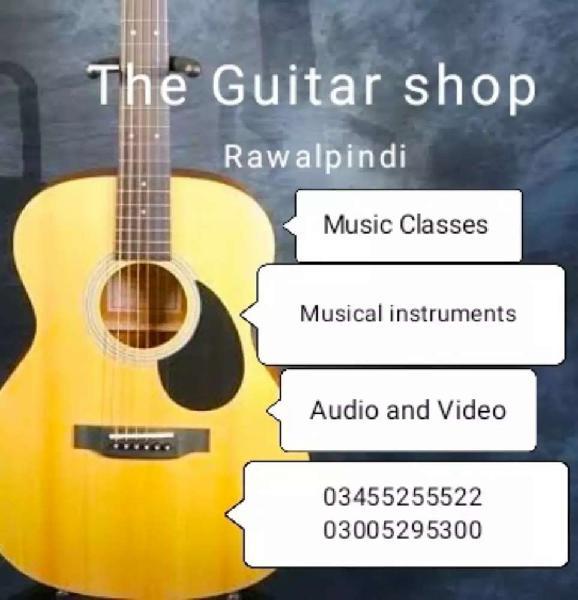 The guitar shop rawalpindi