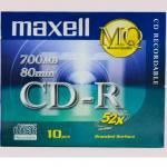New writable maxell cds new packed available, lahore
