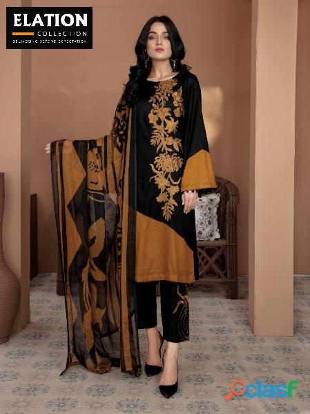 Bindawood Ariba Lawn Collection 3 Pieces Unstitched 5