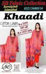 Khaadilawn cloth3PCssuit 50 off, Rawalpindi