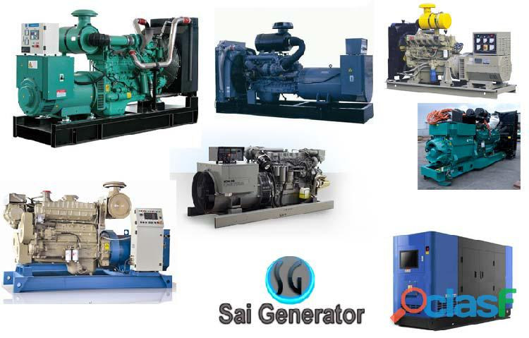Used generators sale Cummins   Kirloskar, Ashok leyland Shree Sai Generator