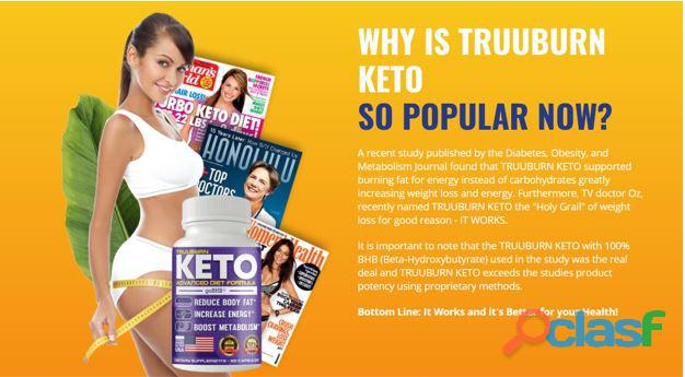 TruuBurn Keto Shark Tank Reviews  Does Truuburn Keto With BHB Pills Work?