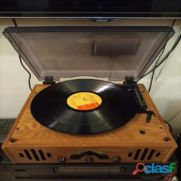 Wood Turntable Gramophone Record player