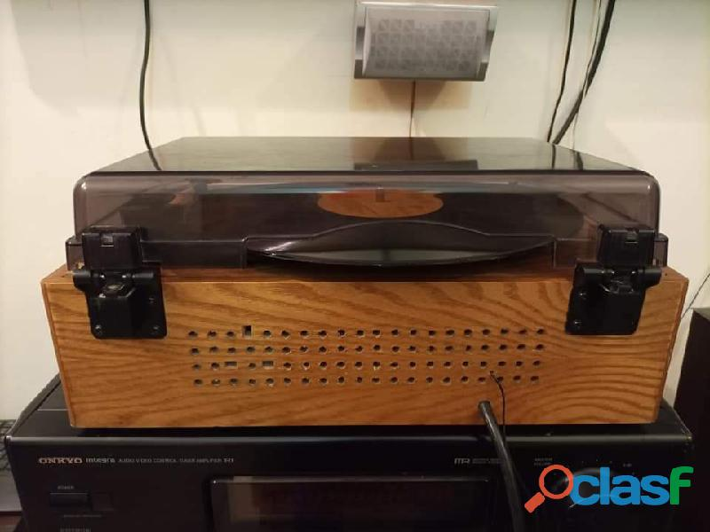Wood Turntable Gramophone Record player 3