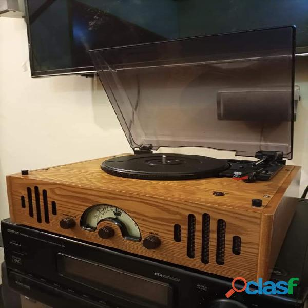 Wood Turntable Gramophone Record player 6
