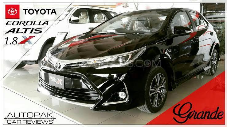 Toyota Corolla Altis Grande CVT-i 1.8 2021